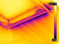Attic hatch air leakage